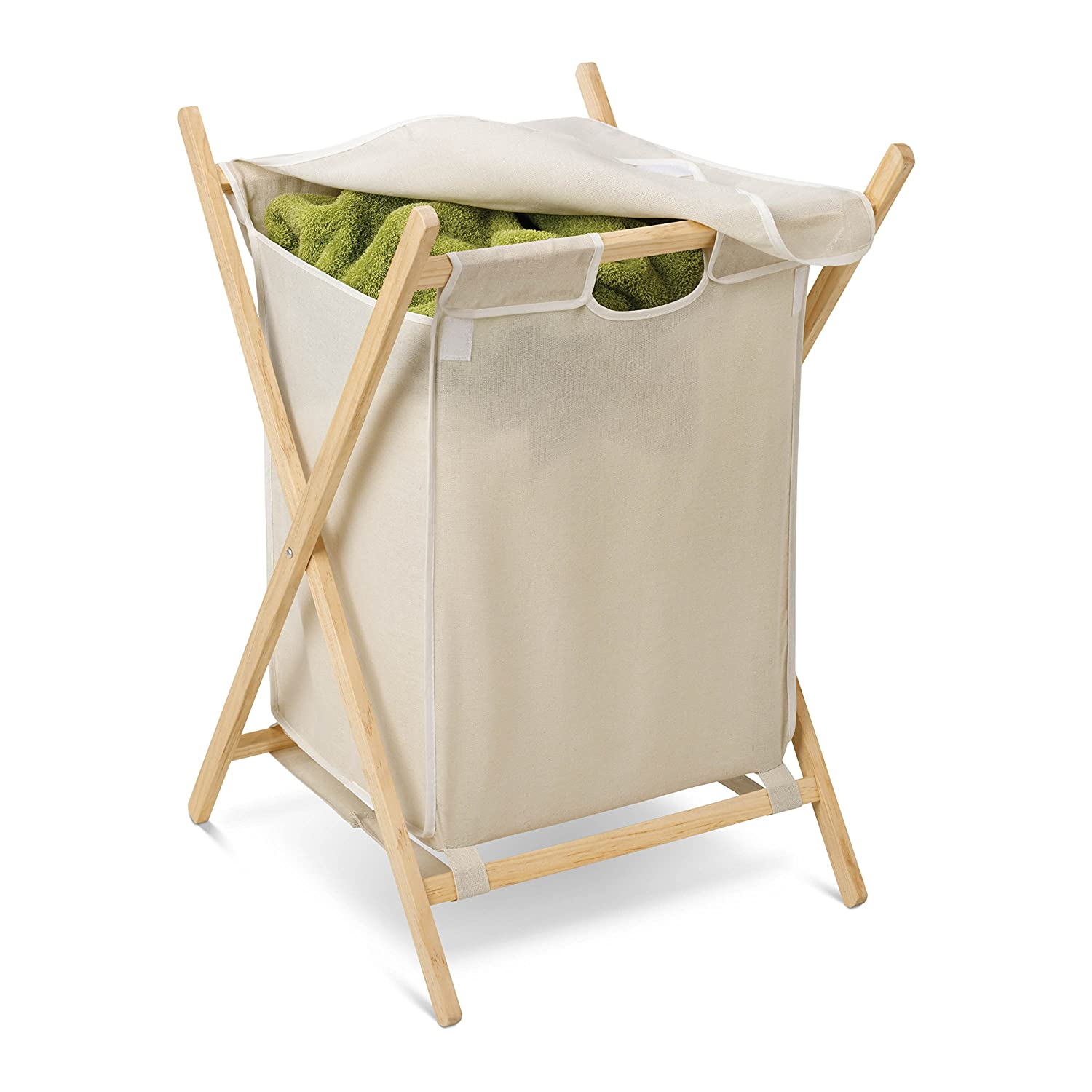Amazon.com: Honey-Can-Do HMP-01365 Folding Frame Clothes Hamper ...