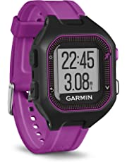 Garmin Forerunner 25, Small, Black and Purple