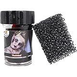 Koh, sangue finto con spugna per simulare croste e ferite, 15 ml, per travestimento da zombie e vampiri per Halloween e carnevale