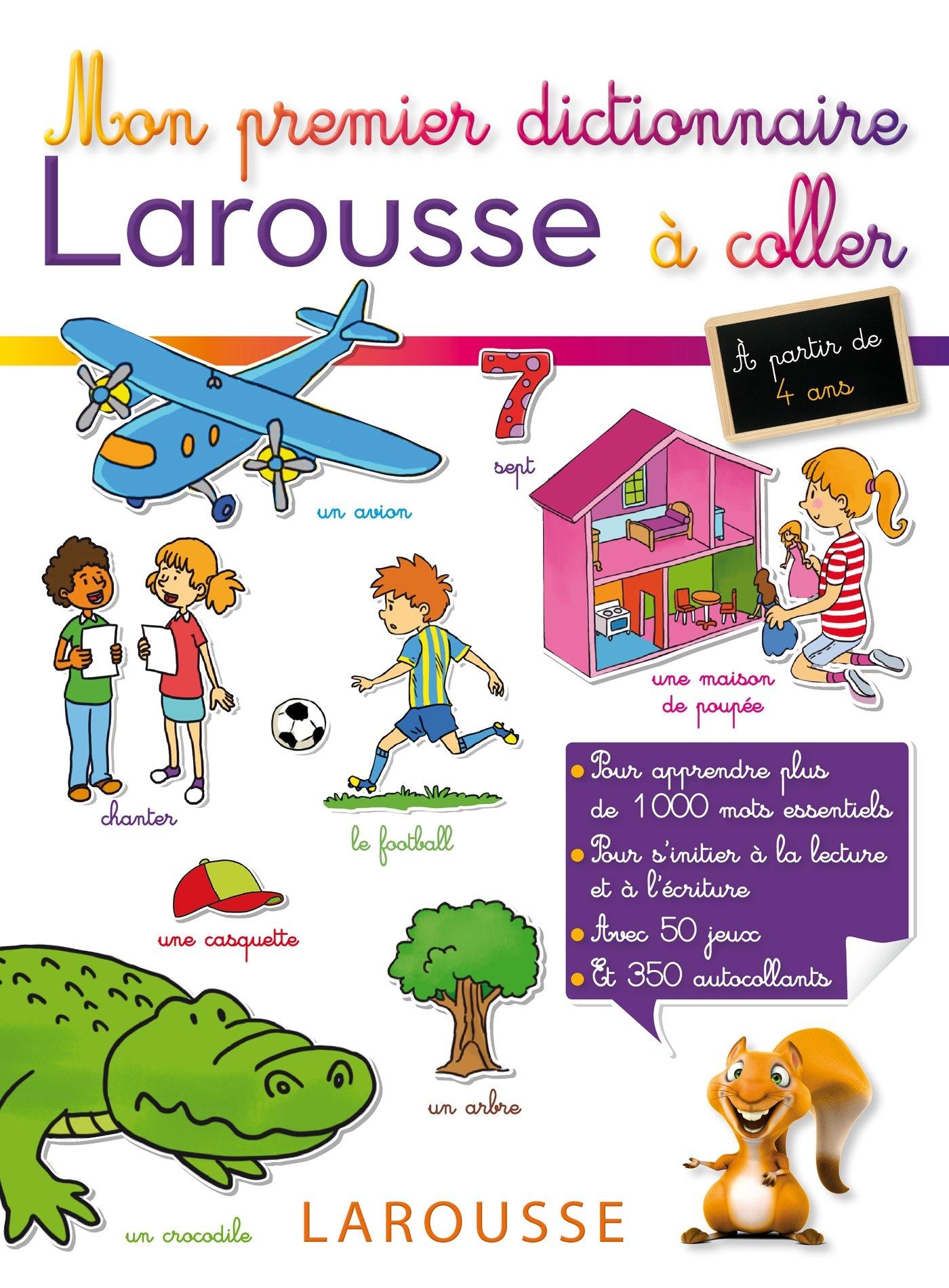 Salle De Bain Marron Et Beige ~ Amazon Fr Mon Premier Dictionnaire Larousse Coller Collectif