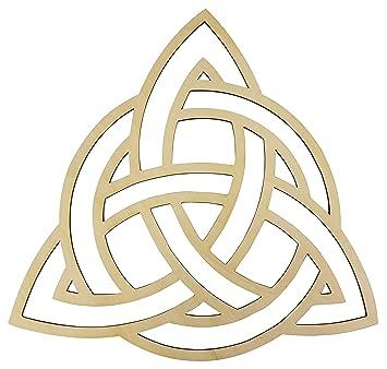 12 Celtic Trinity Knot Wall Art 12 Diameter 1 8 Thick Wooden Wall Art Crystal Grid Zen Wall Art Wooden Art Wooden Wall Art Decor