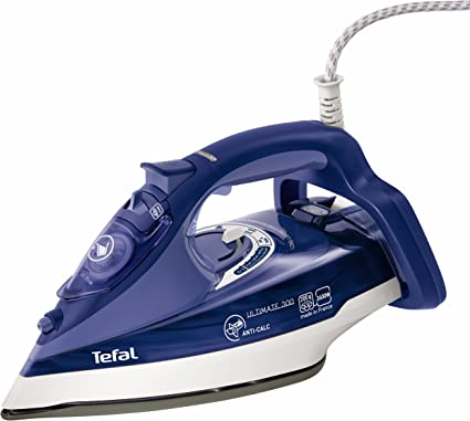 Tefal Ultimate Anti-Calc Steam Iron FV9630 - Purple by Tefal