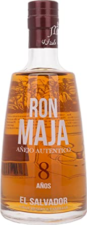 Ron Maja Ron Maja Añejo Autentico 8 Años Gran Reserva Familiar Rum 40% Vol. 0,7l - 700 ml
