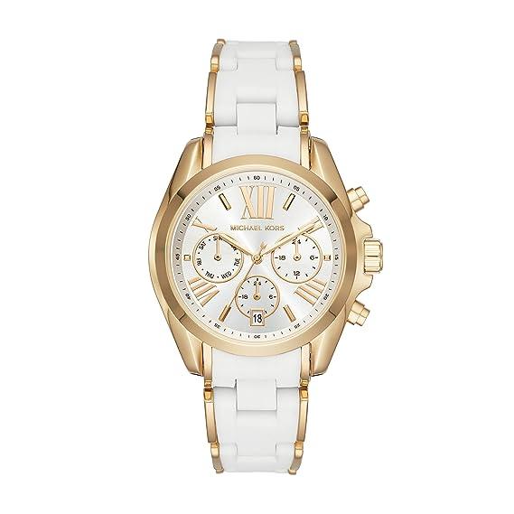 Michael Kors Reloj Analógico para Mujer de Cuarzo con Correa en Acero Inoxidable MK6578: Amazon.es: Relojes