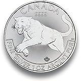 Silbermünze Predator - Puma - 2016 - 1 Unze - prägefrisch