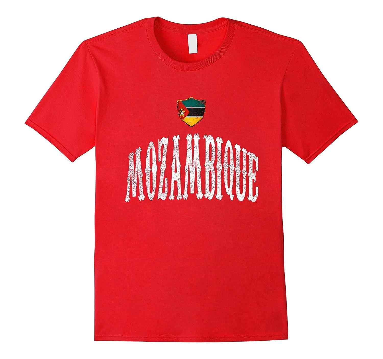 Vintage Mozambique Flag T-shirt Mozambican Pride Sports-CD