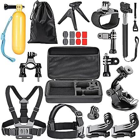 Foneso, Kit 15-en-1 de accesorios para cámaras de deporte.: Amazon ...