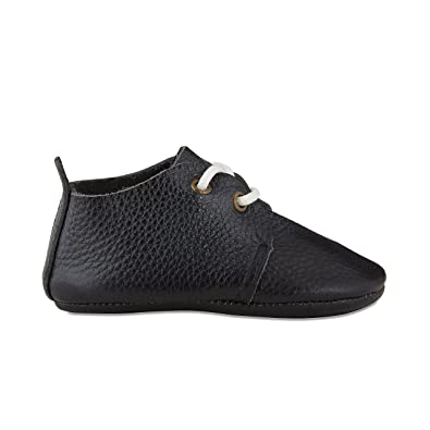 Babe Basics Oxford Baby Shoes, Black, S