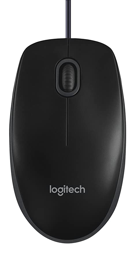 6f433bbc4be Amazon.in: Buy Logitech B100 Optical Mouse (Black) Online at Low ...