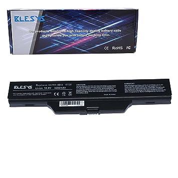 BLESYS 10.8V 4400mAh Reemplazo para HP 550 6735s 6820s 6830s Serie HSTNN-LB51 HSTNN-IB62 HSTNN-OB62 HSTNN-XB51 HSTNN-XB52 Batería de computadora portátil: ...