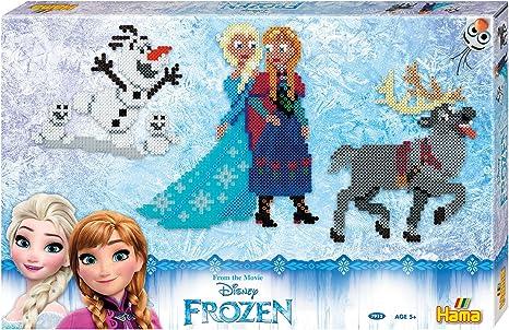 Hama Cuentas para Formar diseños de Frozen, en Caja Gigante, de ...