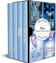 Box Romances Inesquecíveis: Cinzas do Passado, Linha da Vida, Segredos que ferem