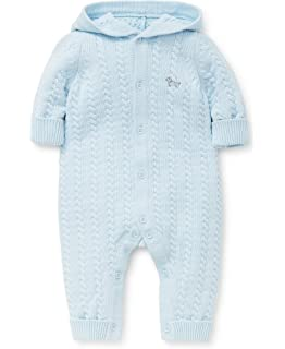 98af6c273835 Amazon.com  Little Me Baby Sweater Coveralls  Clothing