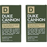"""Duke Cannon """"Big Ass Brick of Soap"""" Smells Like Victory Bar Soap, 10 Ounces (Pack of 2)"""