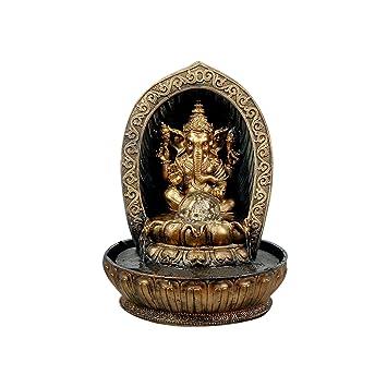 Petite Fontaine Du0027intérieur Ganesh En Résine 30 Cm