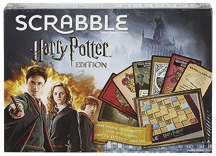Amazon.com: Harry Potter Scrabble Deluxe Edición Limitada ...