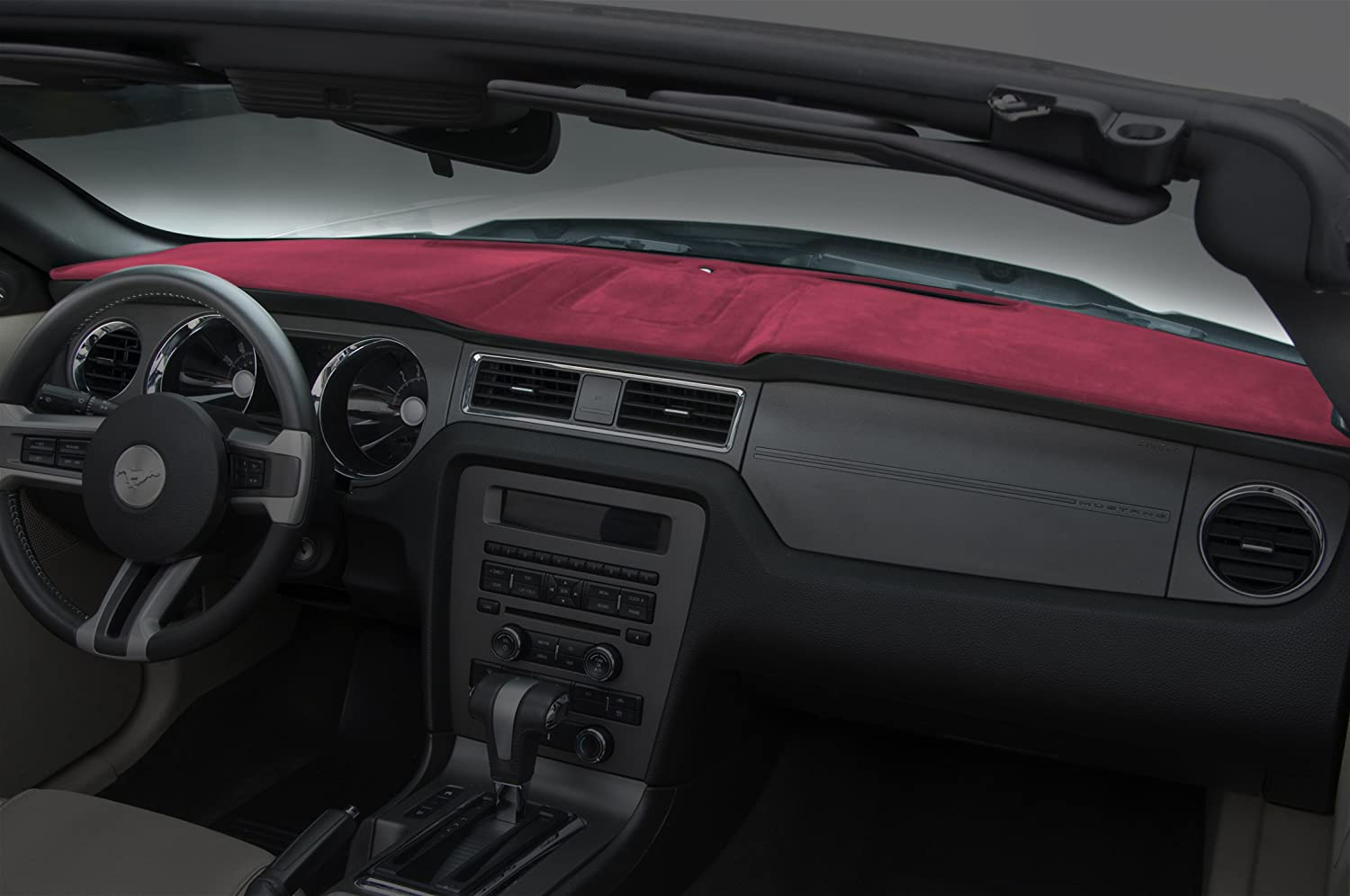 Velour AP Coverking Custom Fit Dashboard Cover for Select Ford Models