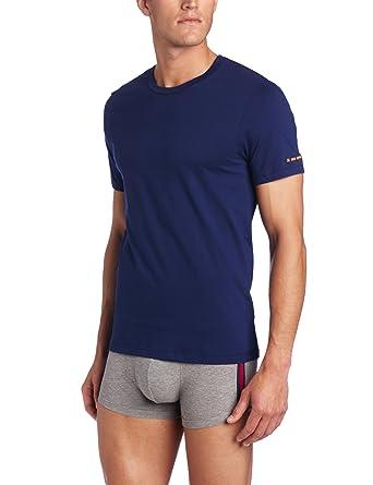 0b06c49c1 BOSS HUGO BOSS Men's Innovation 1 Short Sleeve Crew Neck Tee, Blue, Medium
