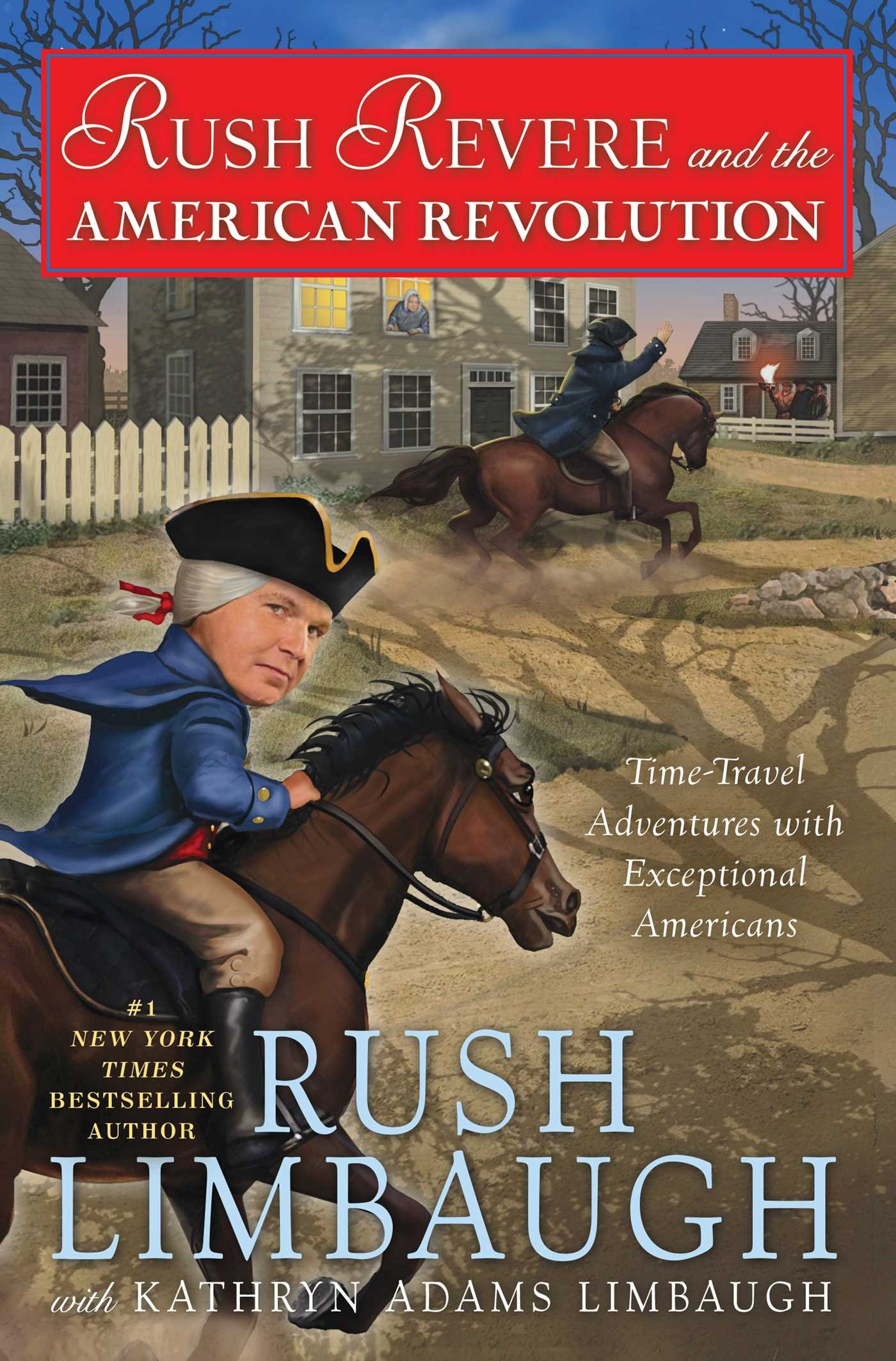The Further Adventures of Rush Revere: Rush Revere and the Brave Pilgrims / Rush Revere and the First Patriots / Rush Revere and the American Revolution / Rush Revere and the Star-Spangled Banner by Threshold Editions (Image #5)