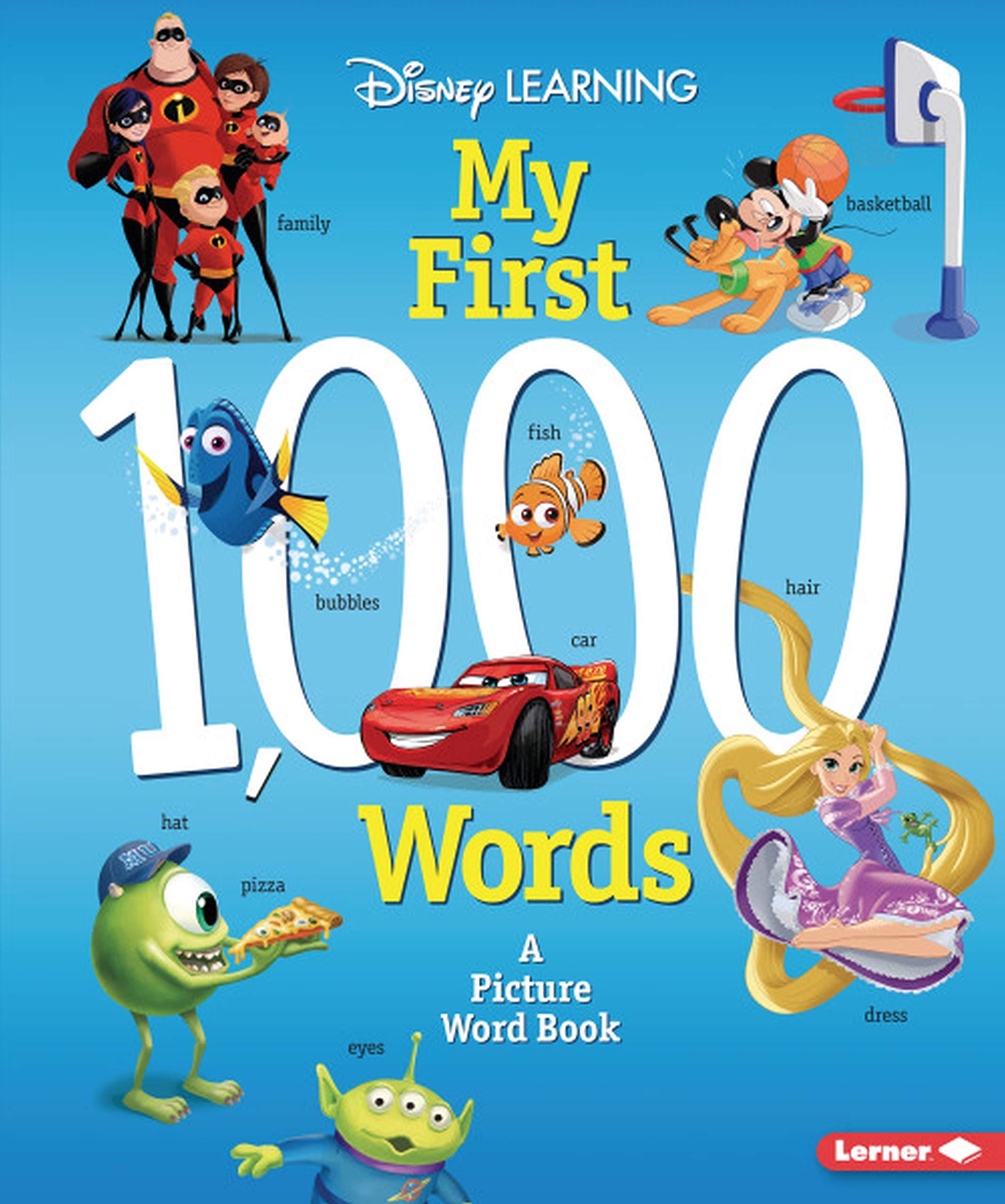 Amazon Com Disney Learning My First 1 000 Words 9781541539129 Yu Erica Books