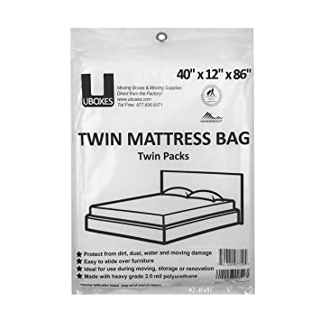 Uboxes Twin tamaño fundas de colchones, 40