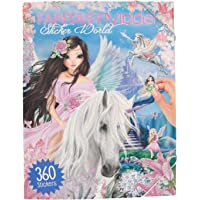 Depesche 8148–Stic kerw–Libro para Colorear, Fantasy Model
