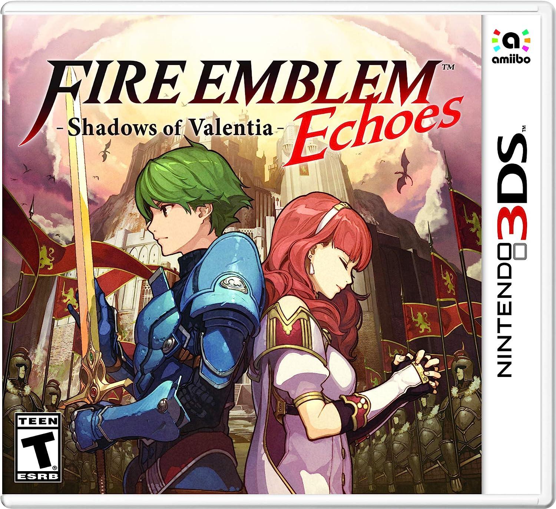 Amazon Com Fire Emblem Echoes Shadows Of Valentia Nintendo 3ds