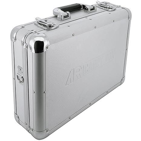 AR Carry Box® Maletín de aluminio maletín de herramientas caja de aluminio vacíos (LxBxH