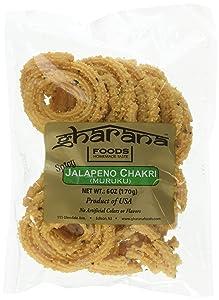Gharana Foods Original Jalapeno Chakri, 6 oz