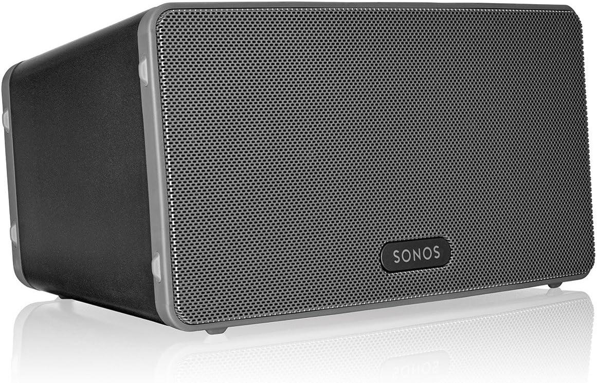 Sonos PLAY:3 - Altavoz portátil con sonido estéreo, color negro
