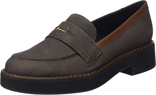 Último pollo protesta  Geox Women's D Adrya E Loafers: Amazon.co.uk: Shoes & Bags