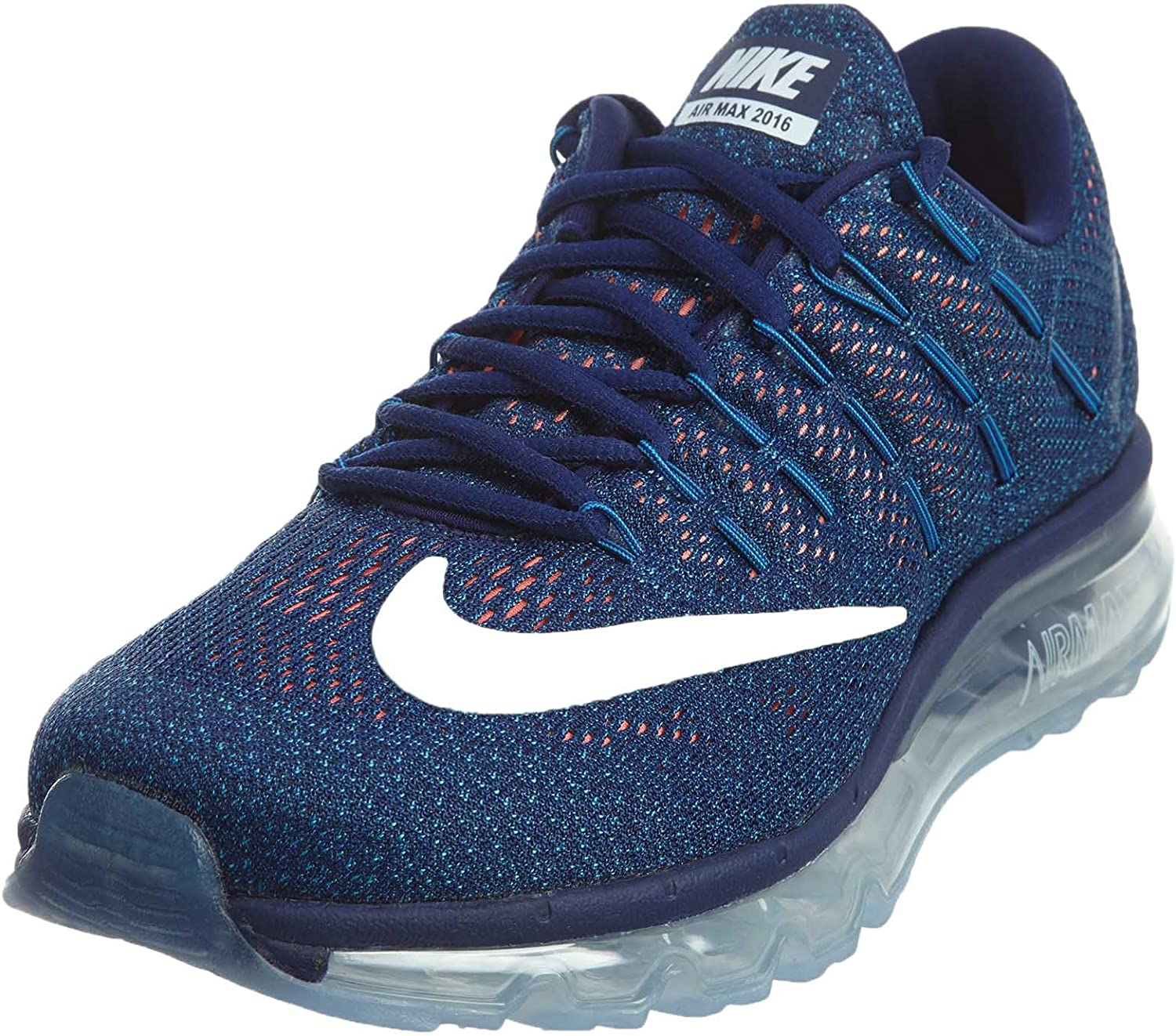 NIKE Men s Air Max 2016 Blue White 806771-411