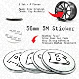 65MM BLACK Emblem Badge Stickers Decals with Strong 3M Includes instructions MEASURE Before Purchase Fitment Top Quality fit For QX Q50 Q60 G37 G35 etc 65MM BLACK pack of 4 AMD