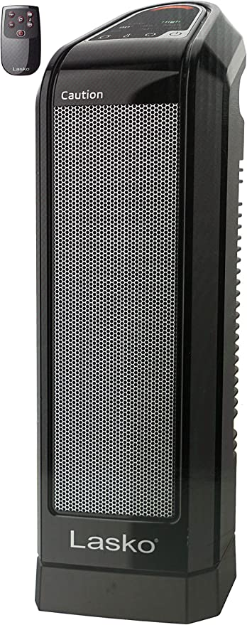 Amazon Com Lasko Electronic Ceramic Heater For Tabletop Or Floor With Remote Control Home Kitchen