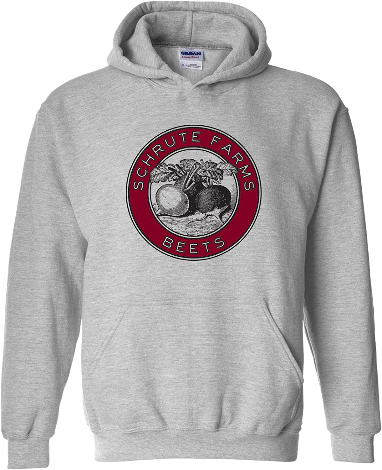 UGP Campus Apparel Schrute Farms Beets - Funny TV Show Hoodie
