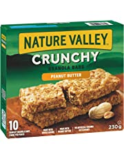 NATURE VALLEY Crunchy Peanut Butter Granola Bras,  10-Count, 230 Gram