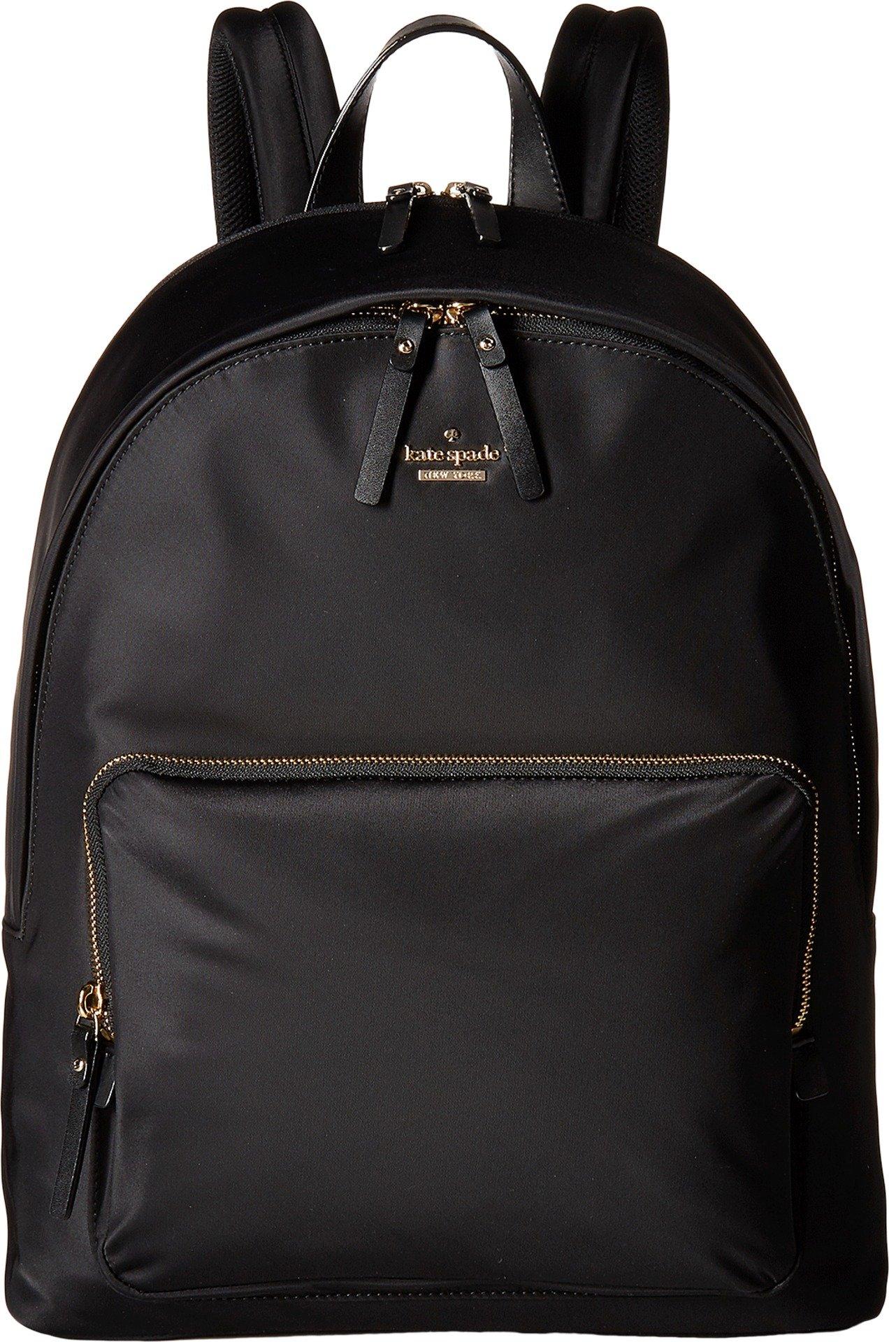 Kate Spade New York Nylon Tech Backpack, Black, One Size