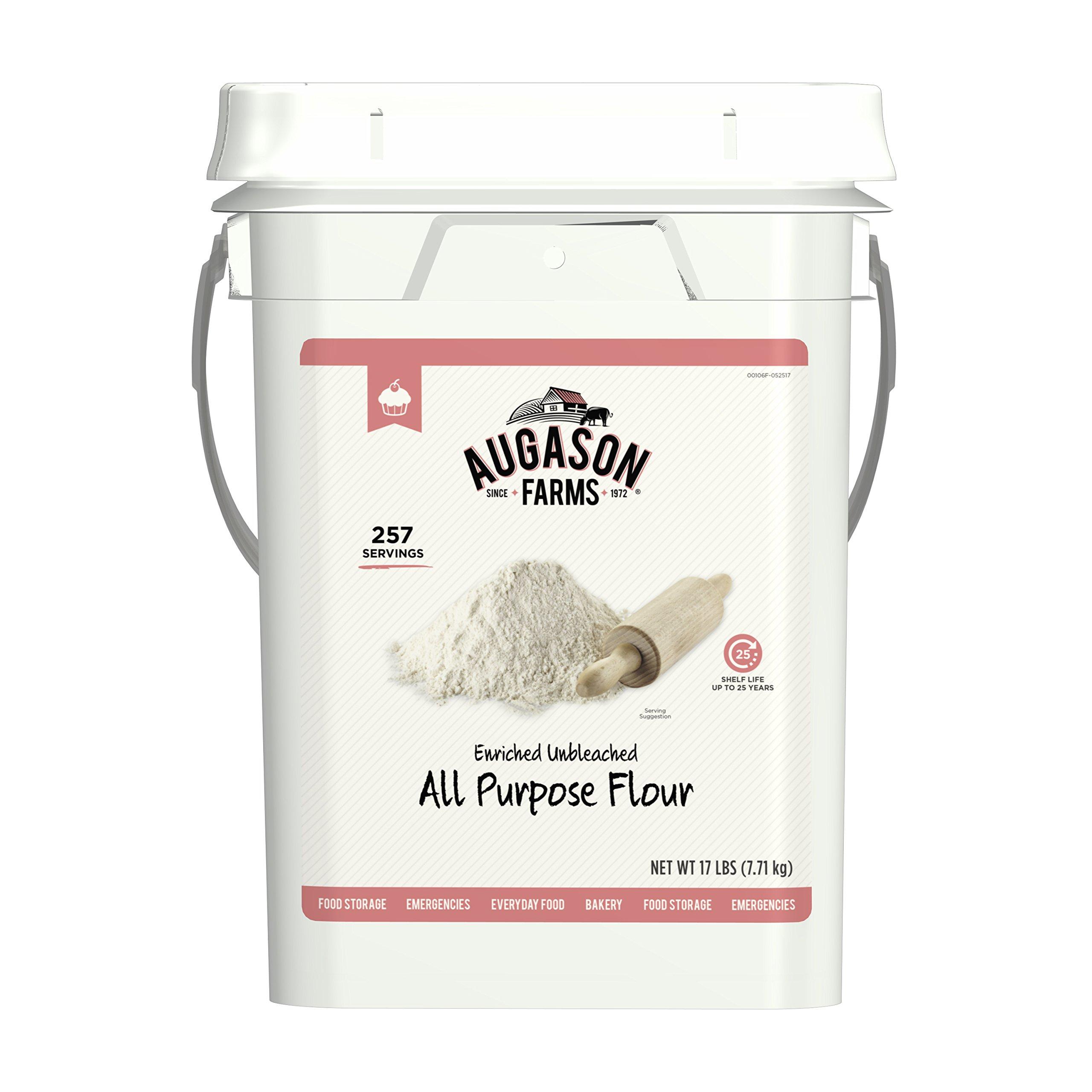 Augason Farms Enriched Unbleached All Purpose Flour by Augason Farms (Image #1)