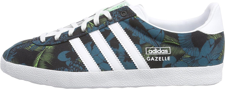 Adidas Originals Gazelle OG W Green White Floral Womens Sneakers ...
