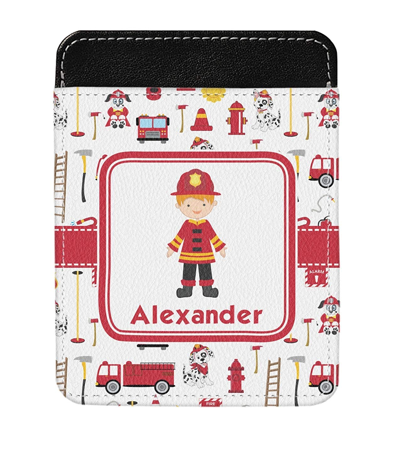 Personalized Firefighter for Kids Genuine Leather Money Clip