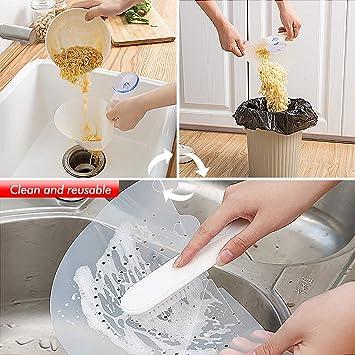 Filtro pieghevole Lavello semplice Stopper autoportante Filtro anti-intasamento del lavandino Dispositivo anti-blocco del filtro fai-da-te per cucina Bagno