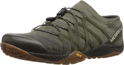 Merrell Trail Glove 4 Zapatillas de punto para mujer, Verde (Oliva ...