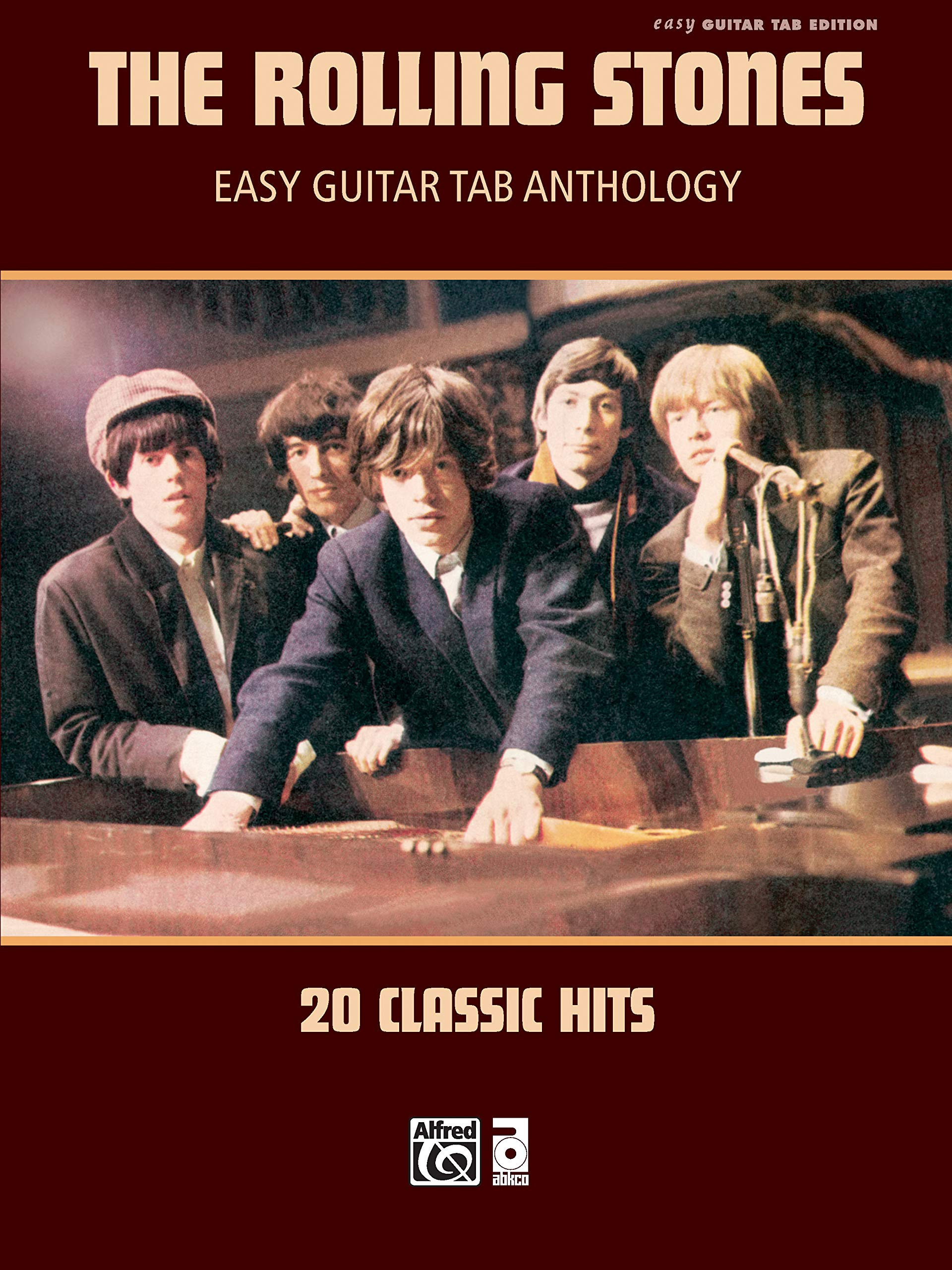 The Rolling Stones -- Easy Guitar Tab Anthology: 20 Classic Hits ...