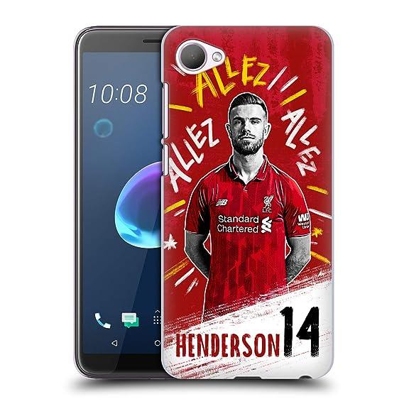 Amazon com: Official Liverpool Football Club Jordan Henderson 2018