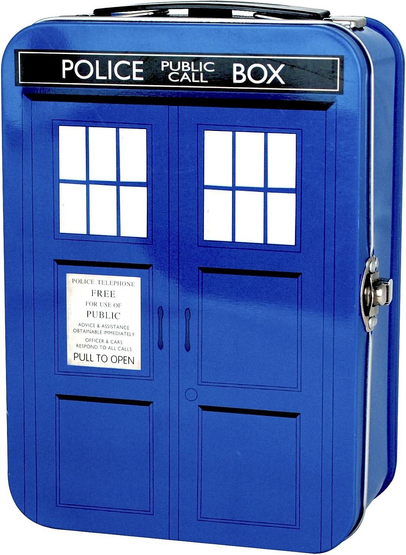 Doctor Who in 19 x 13 x 8 cm Tin Tote 50th Tardis