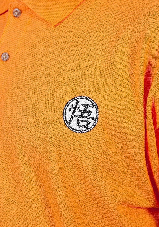 Amazon Dragon Ball Z Goku Symbol Polo Shirt Clothing
