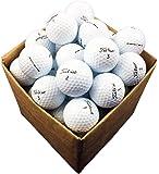 12 x Titleist Pro V1 premium golf balls - refinished, pearl/mint grade