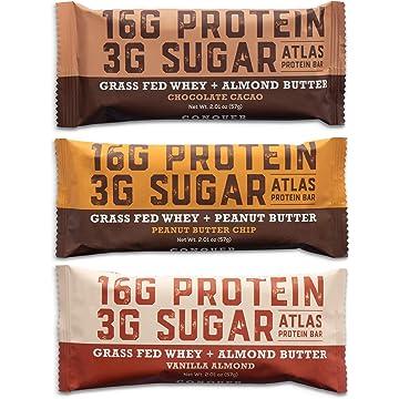reliable Atlas Bar - Keto/Low Carb Friendly Protein Bar