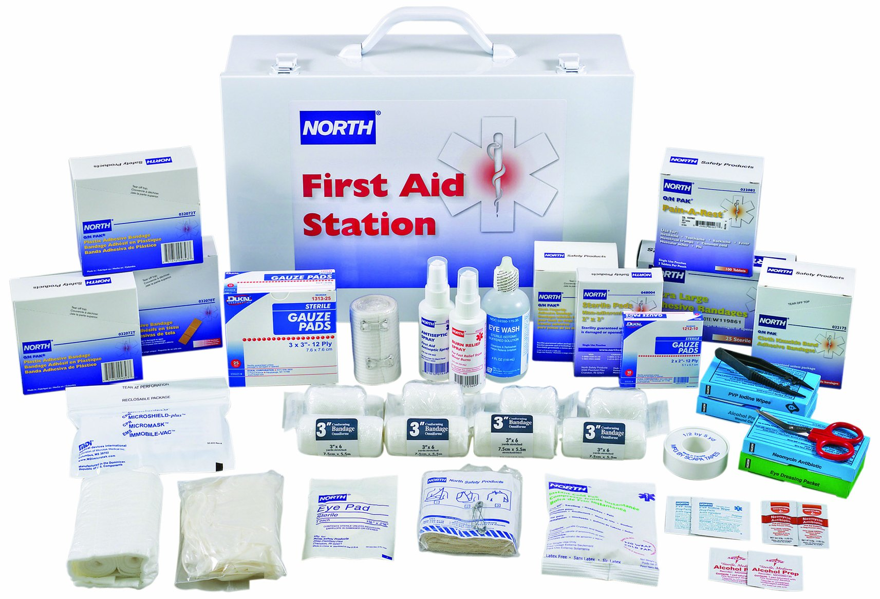 North by Honeywell 019720-0009L 100 person Kit Station by North
