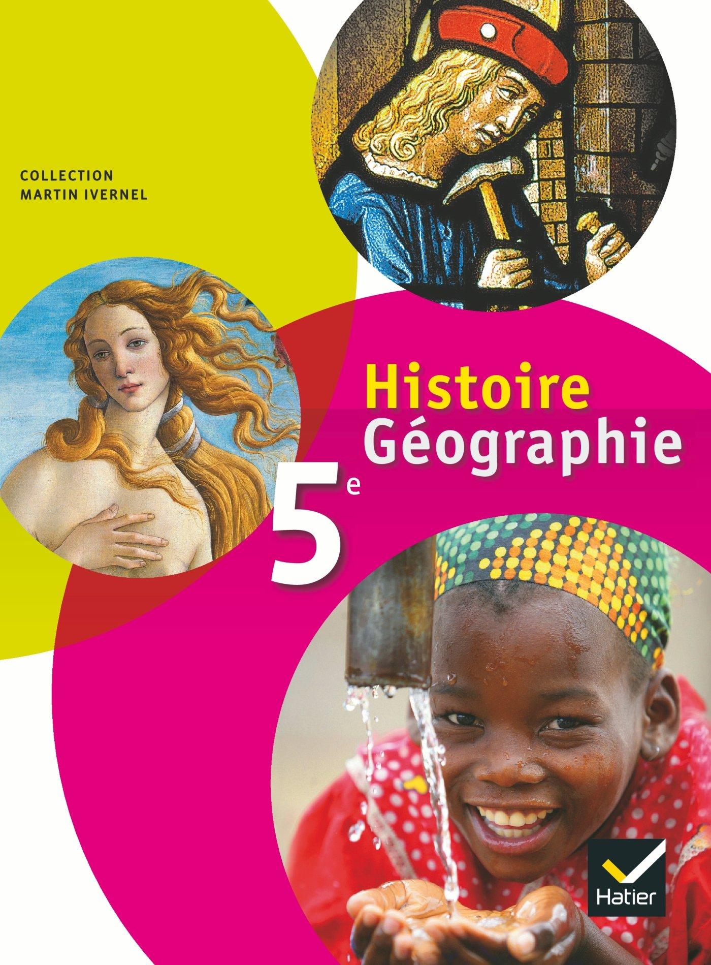 Histoire Geographie 5eme Livre De L Eleve Format Compact